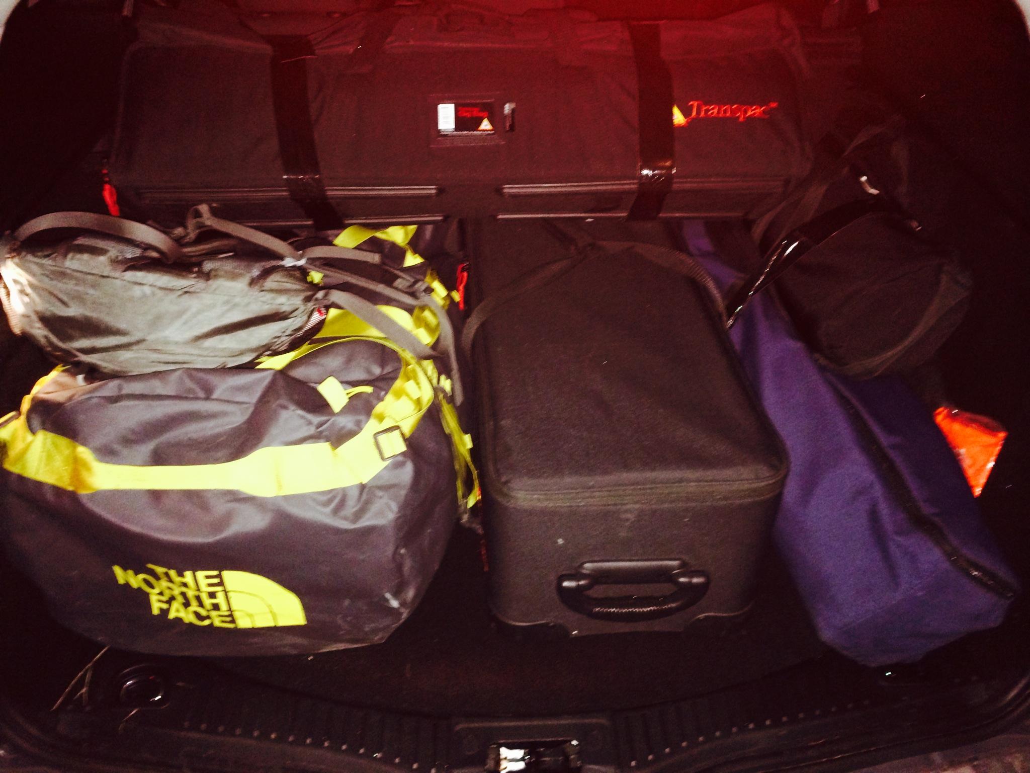 Luggage for Munich