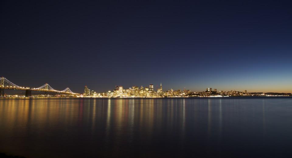 Location scouting trip to treasure Island, San Francisco