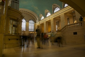 Timelapse of Grand Central Station for corporate film