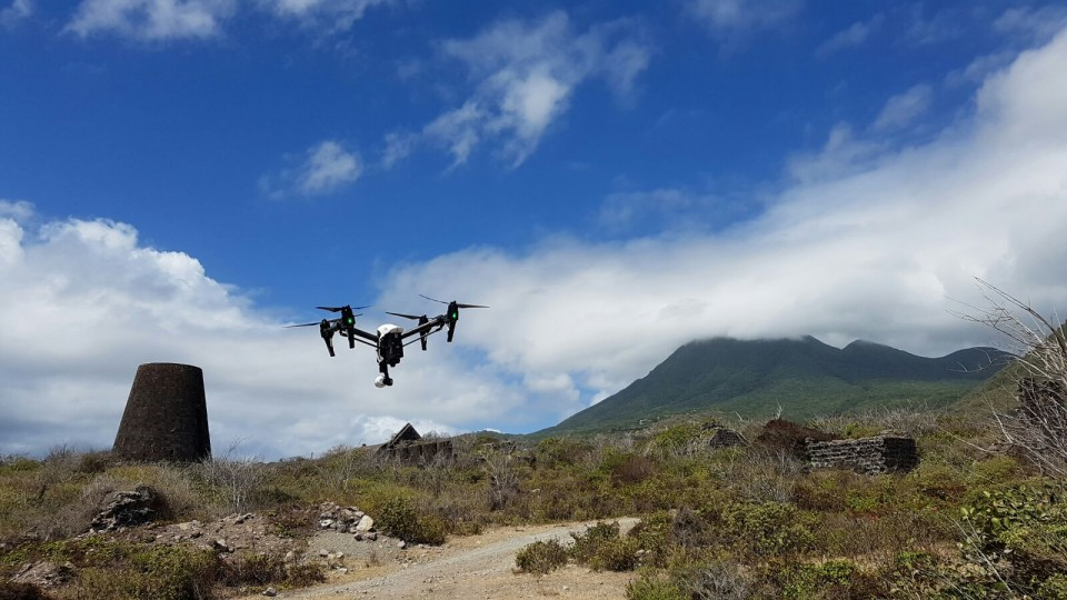 Aerial Filming and Photography shoot in Caribbean